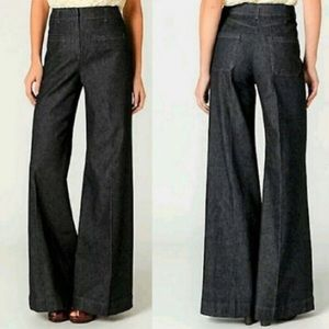 Anthropologie Cartonnier Wide Leg Jeans